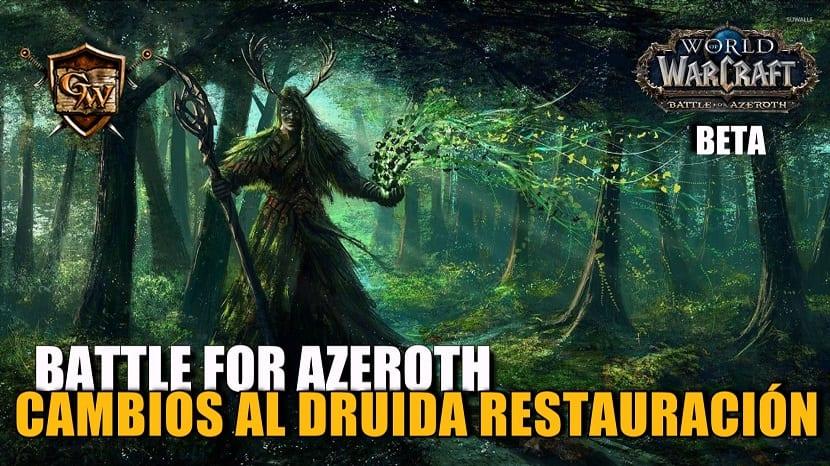 Druida Restauración en Battle for Azeroth