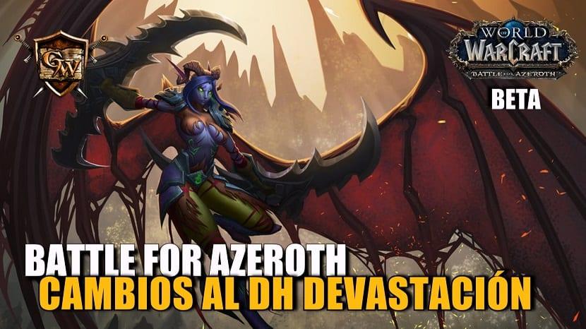 Cazador de demonios Devastación en Battle for Azeroth