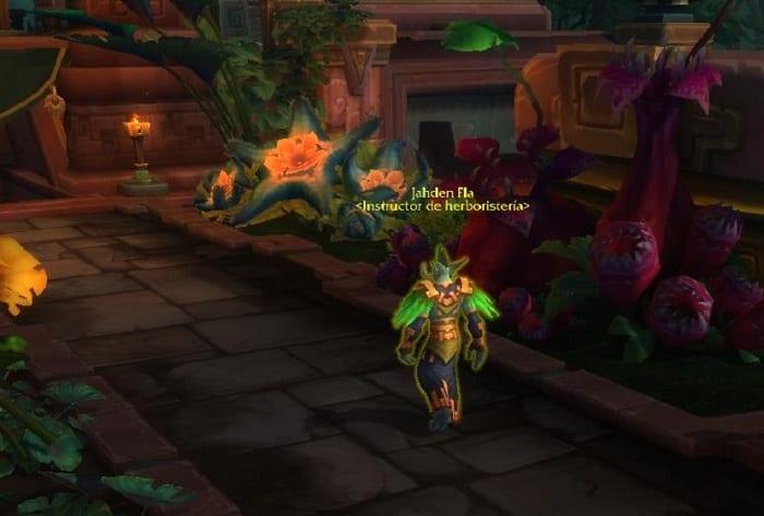 Herboristería en Battle for Azeroth