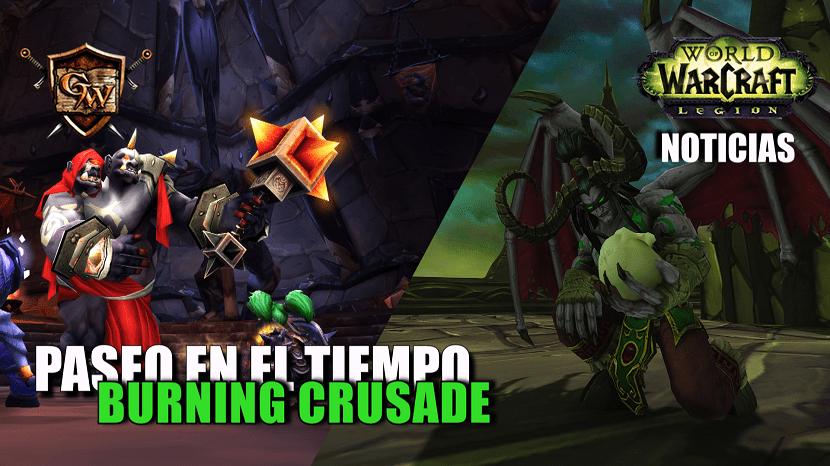 paseo en el tiempo de Burning Crusade portada