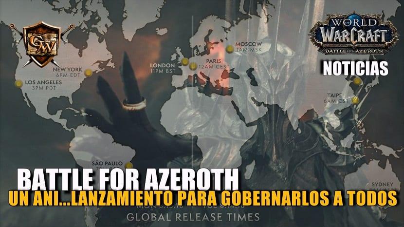 Battle for Azeroth™: un lanzamiento para gobernarlos a todos