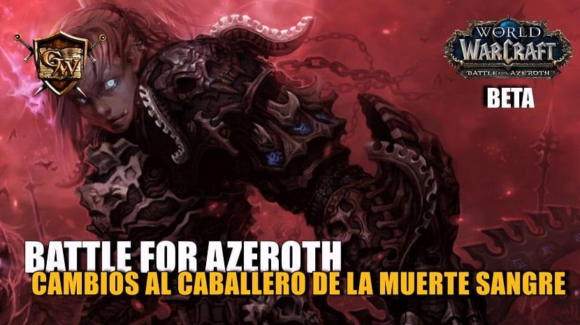 portada caballero de la muerte sangre en battle for azeroth