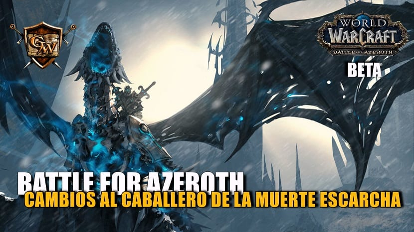 portada caballero de la muerte escarcha en battle for azeroth