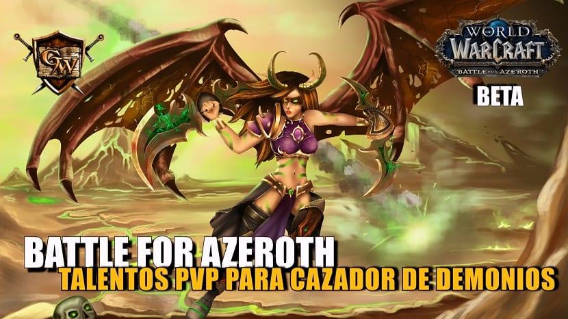 Talentos PvP para Cazador de demonios