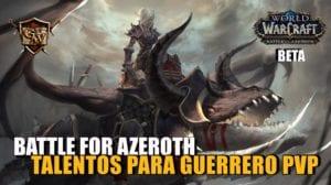 Talentos PvP Guerrero