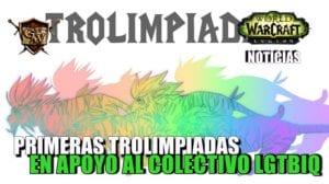 Trolimpiadas en apoyo al colectivo LGTBIQ