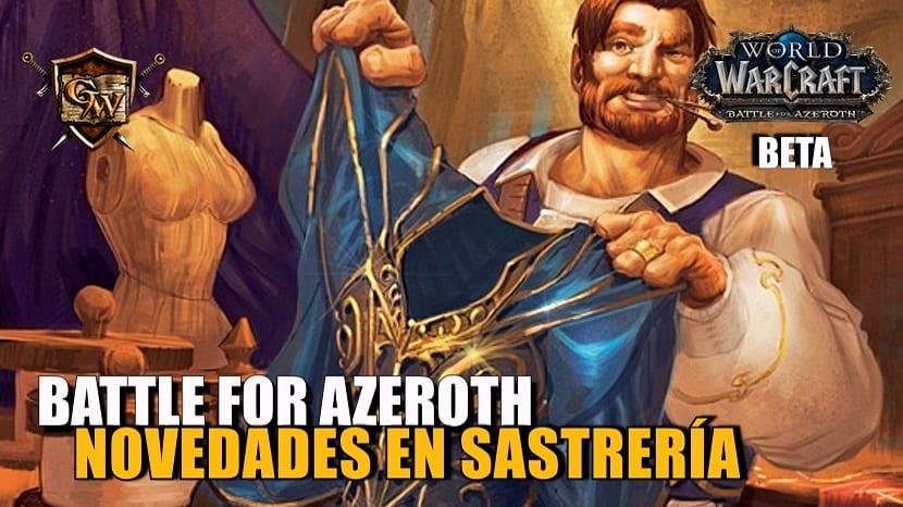 Sastrería en Battle for Azeroth