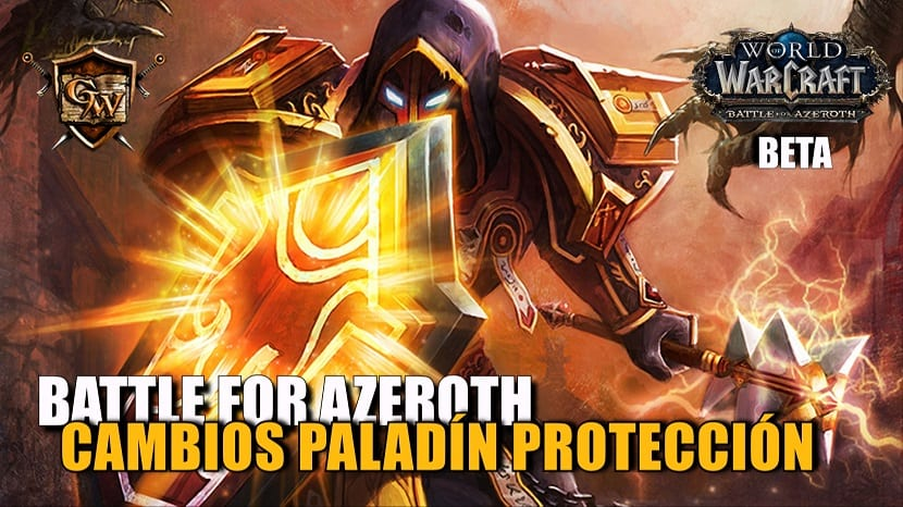 portada paladín protección en battle for azeroth