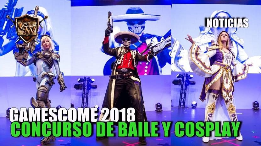 Concursos de baile y de cosplay de Blizzard en la Gamescom 2018