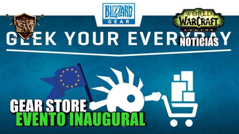 Evento inaugural de la Blizzard Gear Store europea