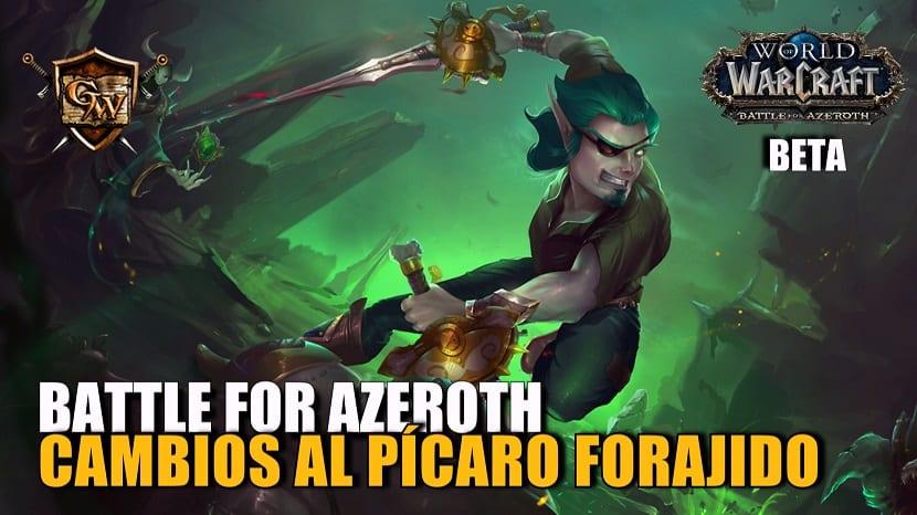 Pícaro Forajido en Battle for Azeroth