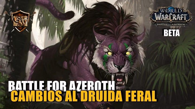 portada-cambios druida feral en Battle for Azeroth