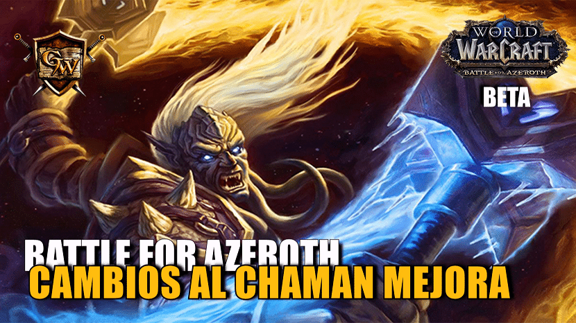 portada chaman mejora en battle for azeroth cambios