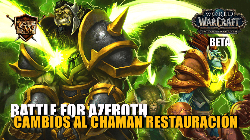 portada chaman restauración en battle for azeroth cambios