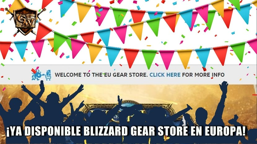 Blizzard Gear Shop ya disponible en Europa