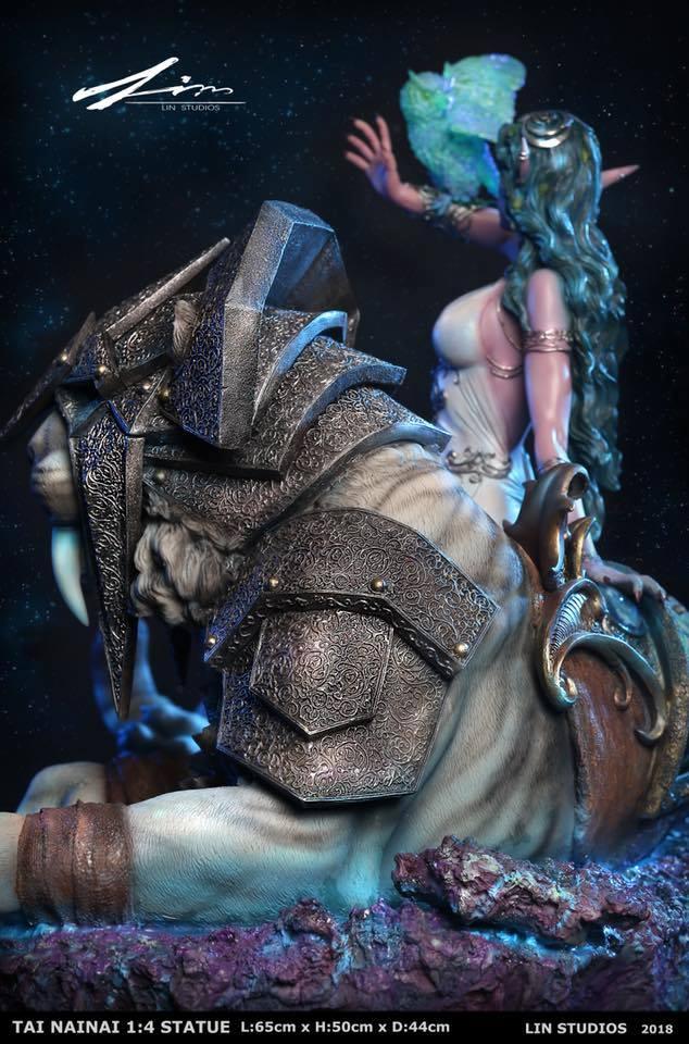 estatua de tyrande susurravientos 8