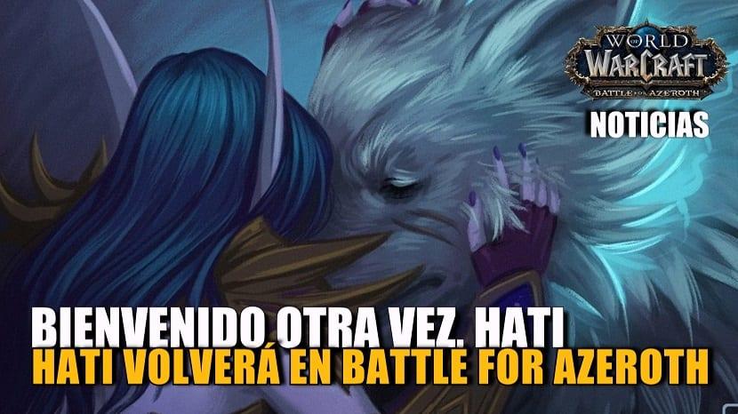 ¡Cazadores estáis de enhorabuena! Blizzard traerá de vuelta a Hati