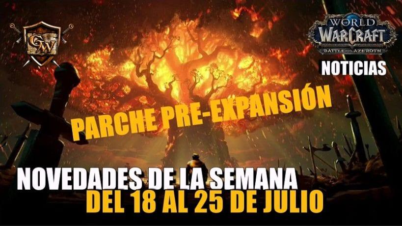 Semana del 18 al 25 de julio