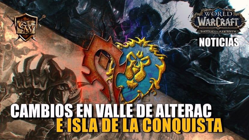 Valle de Alterac e Isla de la Conquista