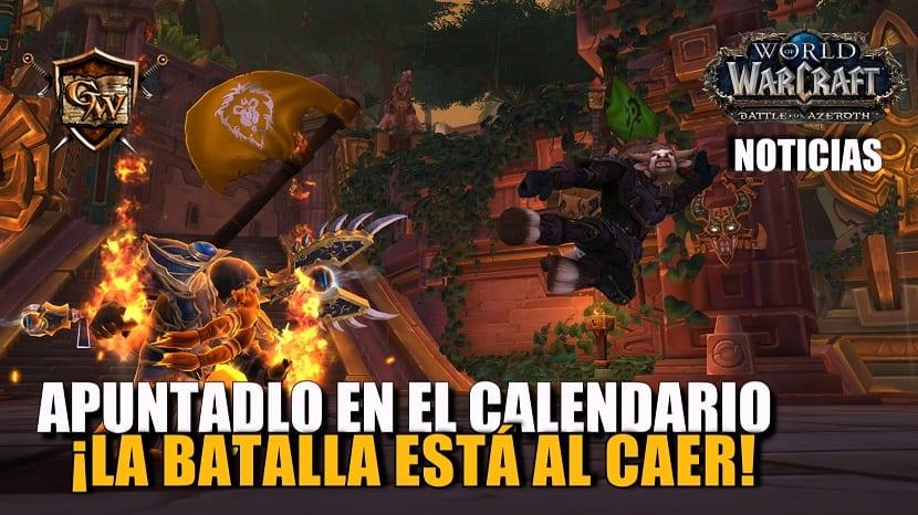 Apuntadlo en el calendario: ¡la batalla está al caer!