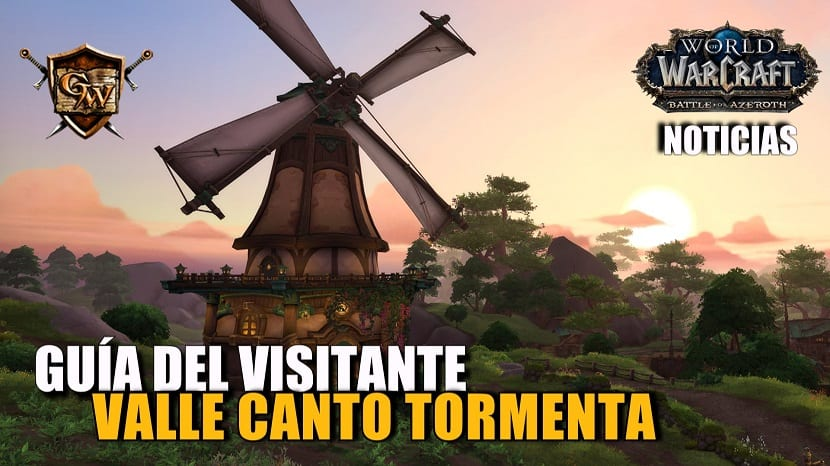 Avance de Battle for Azeroth: Guía del visitante del Valle Canto Tormenta