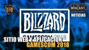 Sitio web y aplicación de Blizzard