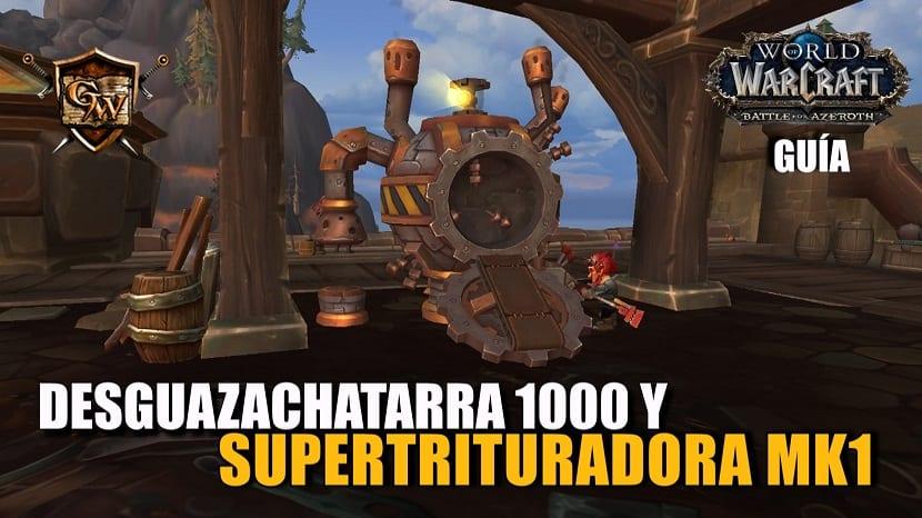 Desguazachatarra 1000 y Supertrituradora MK1