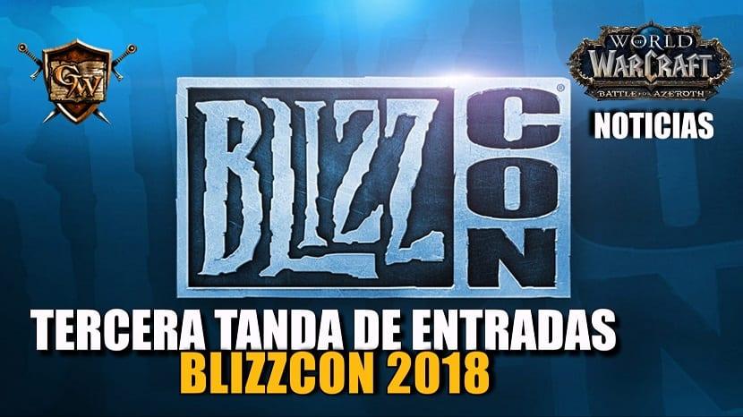 Venta de entradas BlizzCon