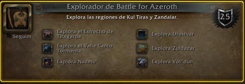 Abrecaminos de Battle for Azeroth