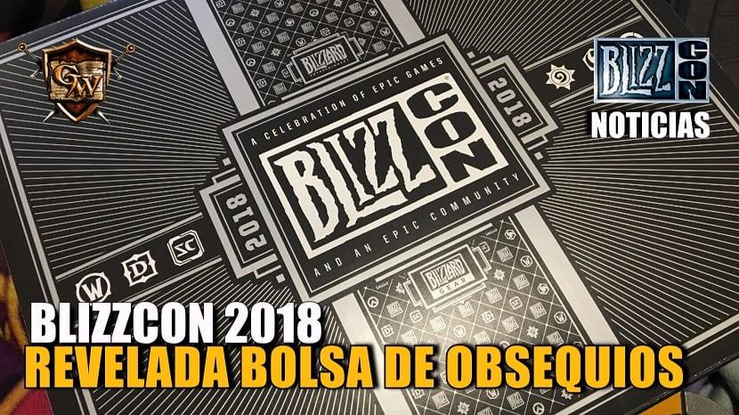 Revelada la bolsa de obsequios para la Blizzcon 2018