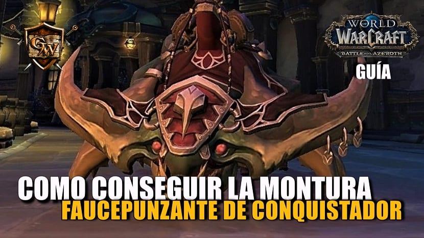 Faucepunzante de conquistador