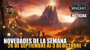 Semana del 26 de septiembre al 3 de octubre