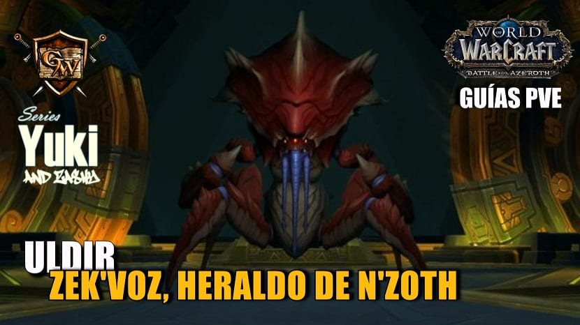 Zek'Voz Portada uldir