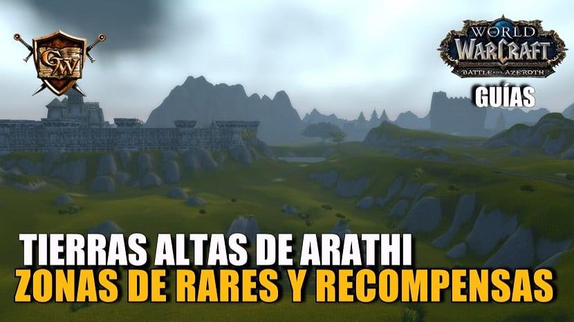 Rares en Tierras Altas de Arathi - Zonas y recompensas