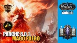 Guía Mago fuego JcJ
