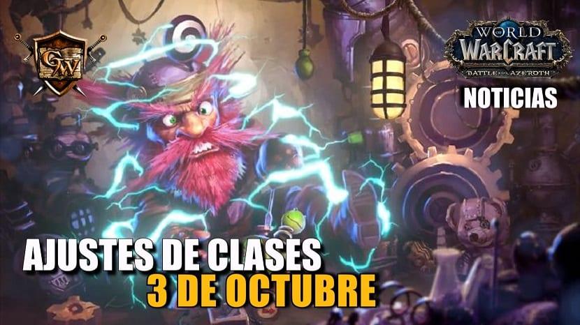 Ajustes en el equilibrio de clases - 3 de octubre