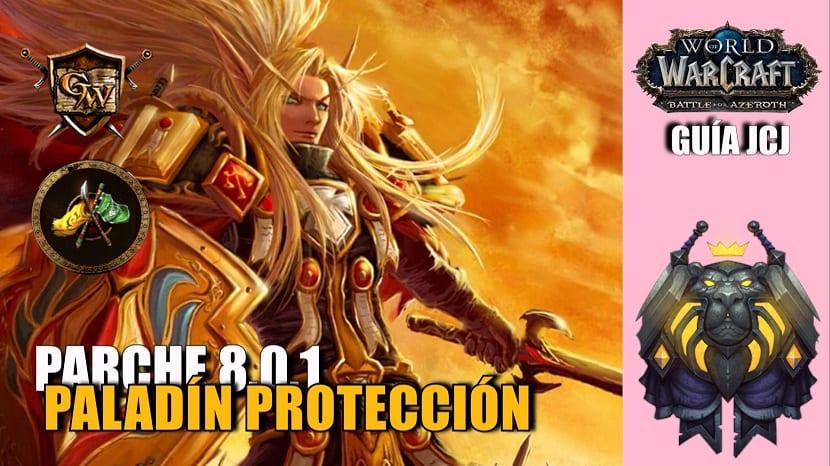 paladin proteccion JcJ portada guía pvp