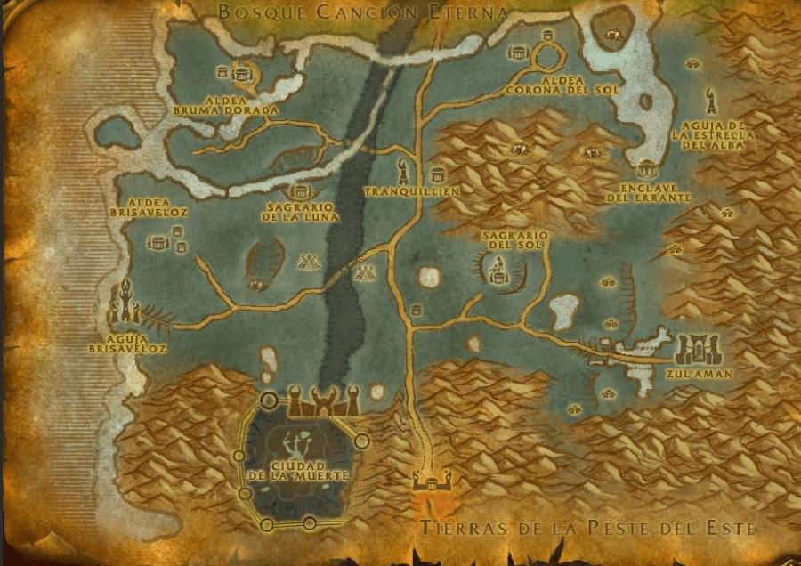 mapa tranquilliem