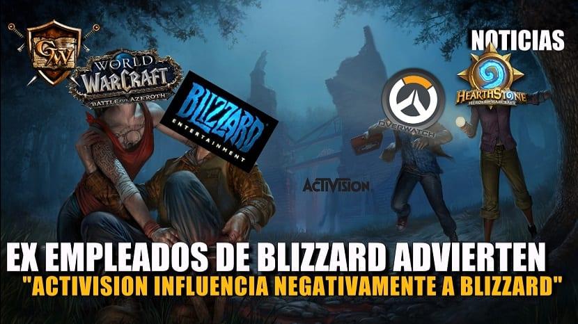 Ex empleados de Blizzard advierten