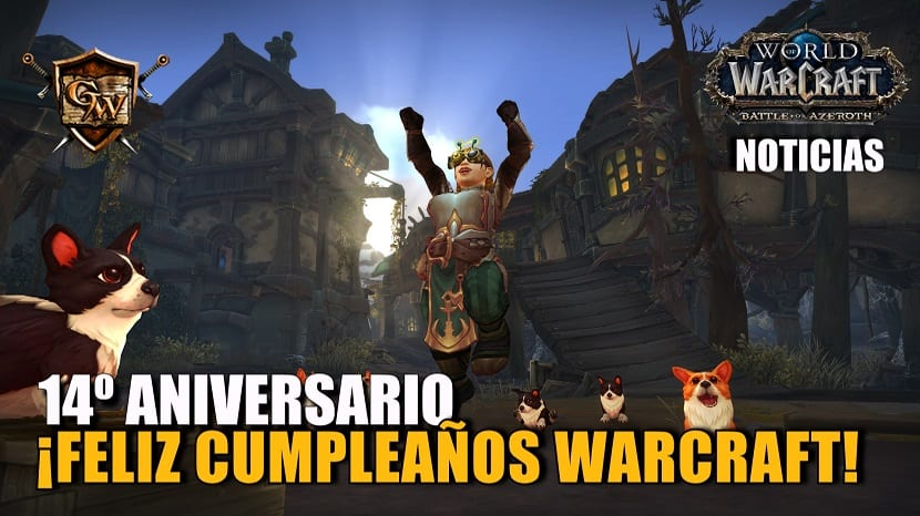 ¡Celebrad los 14 años de World of Warcraft!