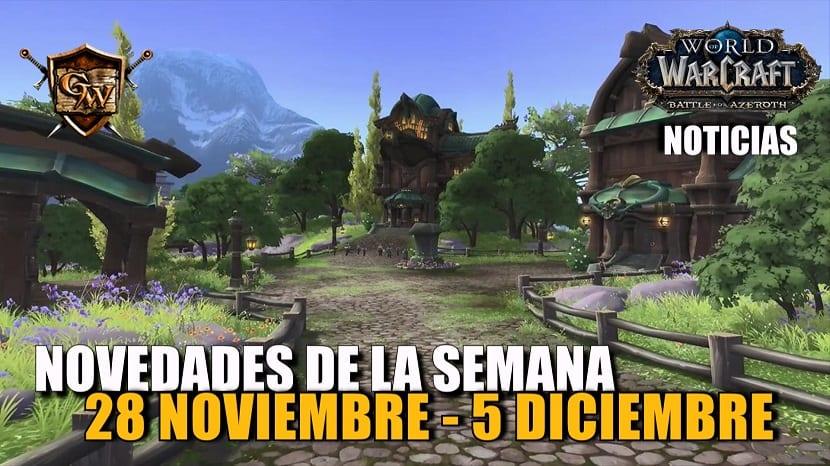 Semana del 28 de noviembre