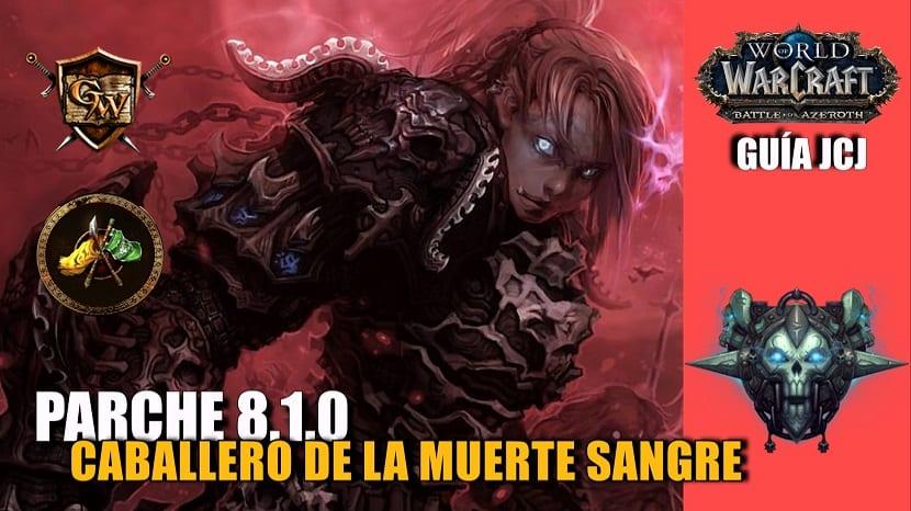 portada caballero de la muerte sangre guía jcj 8.1.0