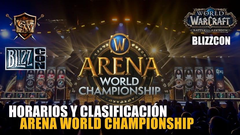 portada arena world championship - blizzcon 2018