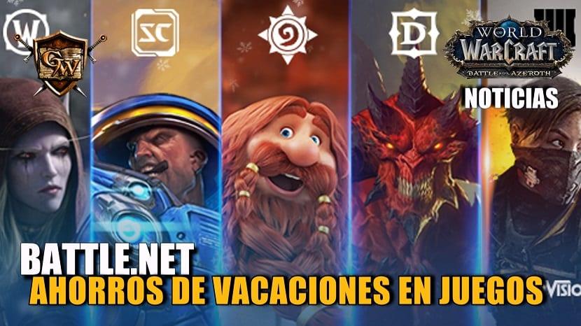 Ahorros de vacaciones en juegos de Blizzard y Activision para PC en Battle.net