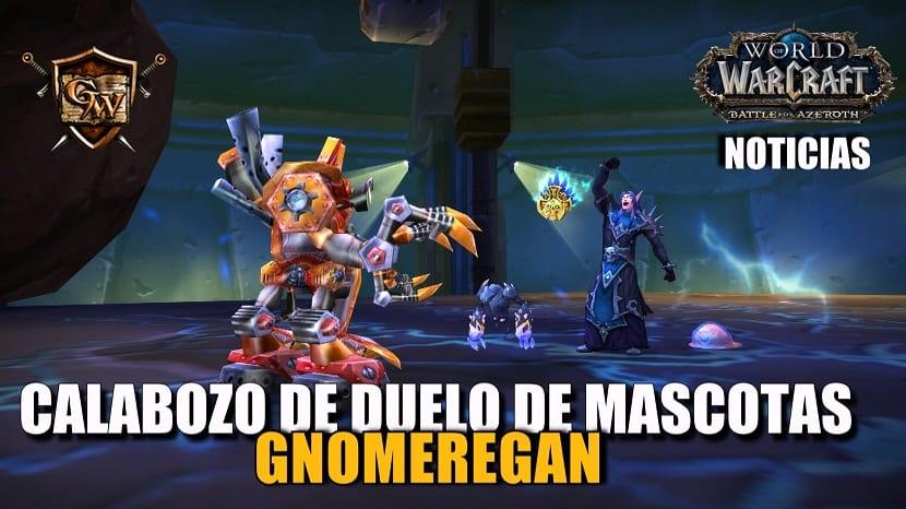 Nuevo calabozo de duelo de mascotas: Gnomeregan
