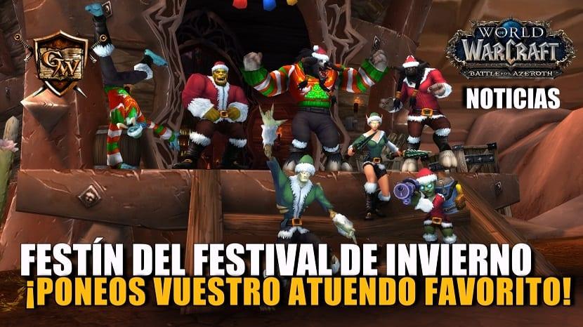 Poneos vuestro atuendo festivo: ¡el festín del Festival de Invierno ha comenzado!