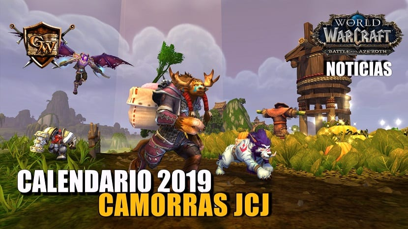 Calendario camorras 2019