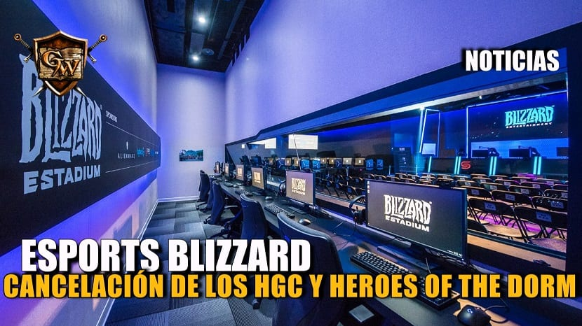 Blizzard cancela Heroes Global Championship y el Heroes of the Dorm