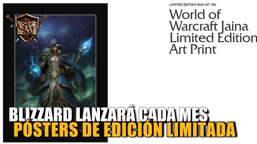 Blizzard lanzará cada mes un Póster Edición Limitada en la Gear Store americana