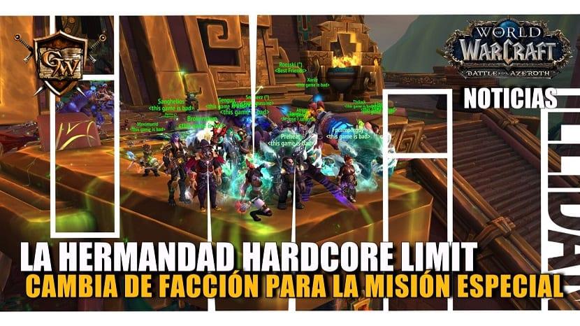 La hermandad hardcore Limit cambia de facción para beneficiarse de la misión especial de la Alianza